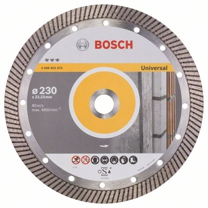 Bilde av Bosch Diamantblad 230mm Best Universal Turbo.