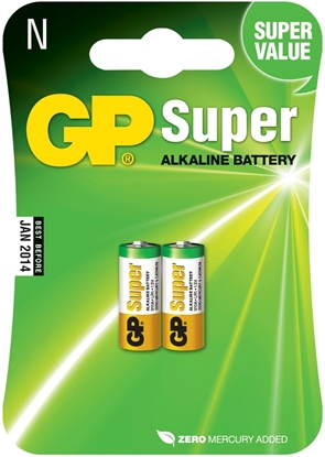 Bilde av GP Batteri LR 1 Super 2 pk