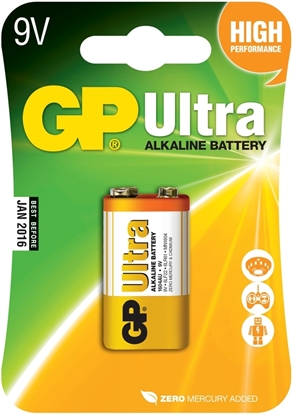 Bilde av GP Batteri Ultra 6LF22/9V