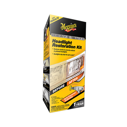 Bilde av Meguiar's Headlight Heavy Duty Restoration Kit