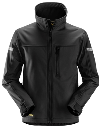Bilde av JAKKE 1200 SOFTSHELL SORT SNICKERS
